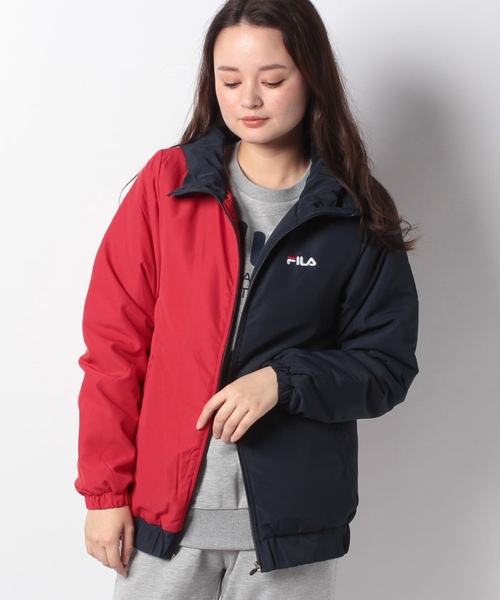 【FILA】カラーブロック 中綿ジャケット