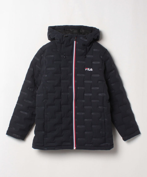 アルミプリント中綿ジャケット