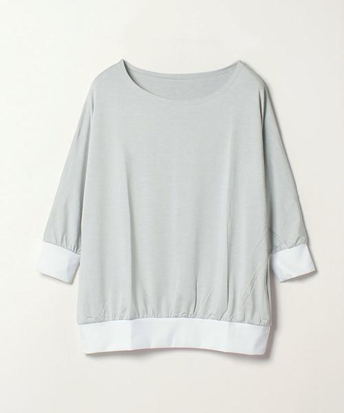 <YOGA>ドルマンスリーブTシャツ (347511)