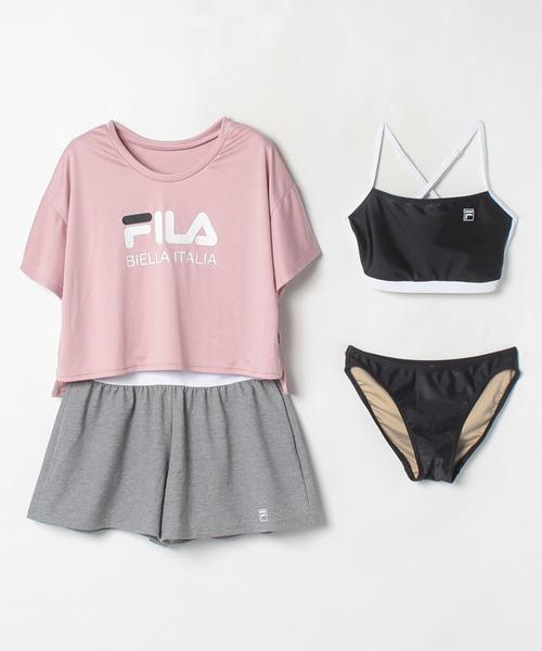 【フィラ】ロゴTシャツ4点セット