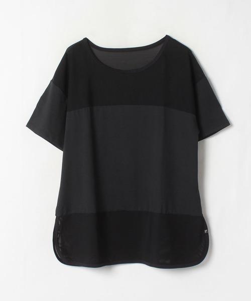 【フィラ】パワーネット切替Tシャツ