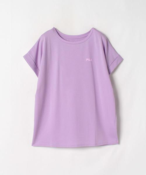 【フィラ】袖折フレンチTシャツ
