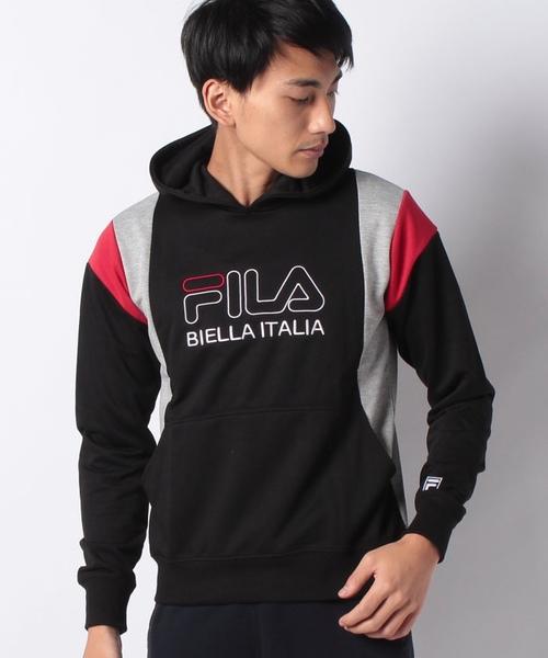 【FILA】フィラメント スウェットパーカー