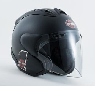 スポーツナンバーワン3/4ヘルメット(ブラック)