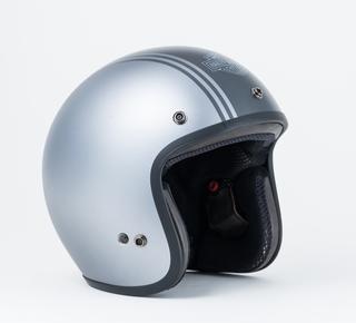 グレーストライプ3/4ヘルメット