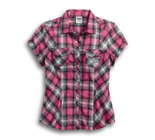 Pink Label スナップフロントシャツ