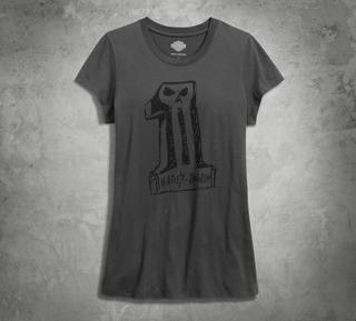 スケッチー#1スカルTシャツ