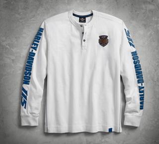 115thアニバーサリー・ヘンリーネックTシャツ