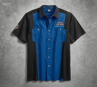 115thアニバーサリー・カラーブロックシャツ