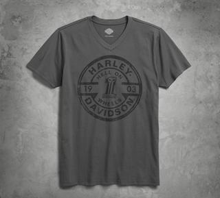 ヘルオンウィールズ・VネックTシャツ