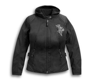 スクロールスカル3-in-1ライディングジャケット