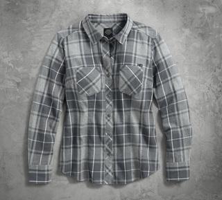 グレープレイドシャツ