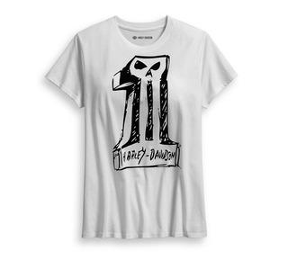 スケッチ-#1スカルTシャツ
