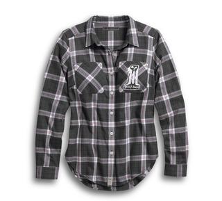 スケッチ-#1プレイドシャツ