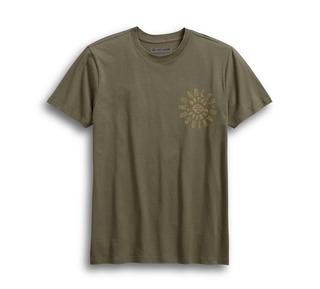 ラディアルロゴ・スリムフィット・Tシャツ