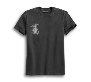 ウィングパッチ・スリムフィット・Tシャツ