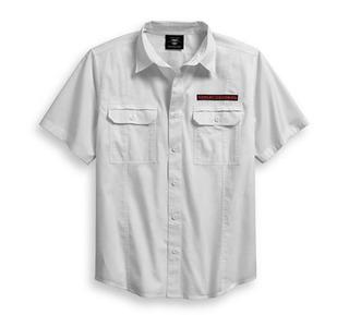 チェッカーボード・グラフィックシャツ