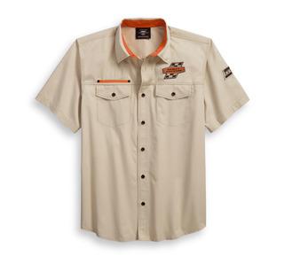 Screamin' Eagleツイルシャツ