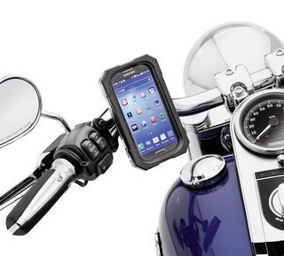耐水ハンドルバーマウント携帯電話キャリア・Samsung Galaxy S3/4用