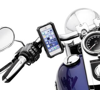 耐水ハンドルバーマウント携帯電話キャリア・Apple iPhone 5/5S用