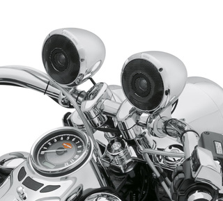 ブームオーディオ・Bluetoothクルーザーアンプ&スピーカーキット・クローム