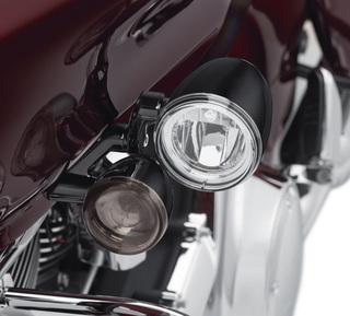 ロードグライド・LEDフォグライトマウントキット・ブラック