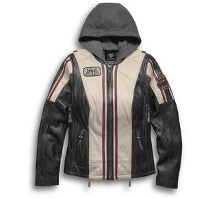 アリッサ・3イン1・レザージャケット