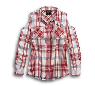 アメリカーナ・イーグルプレードシャツ