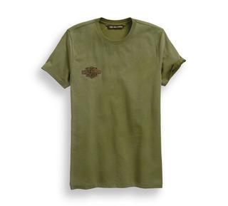 ウィングロゴパッチ・スリムフィットTシャツ
