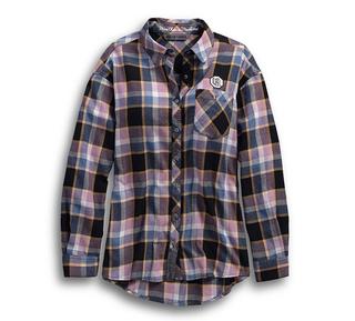 ウイングサイクルプレイドシャツ