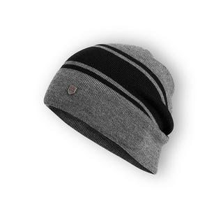 ウール混スラウチニット帽子