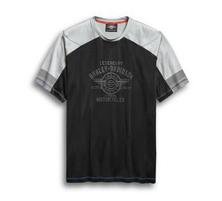 パフォーマンス・カラーブロック・ T シャツ
