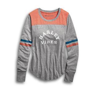 Harleyバイブス・バーシティ・Tシャツ