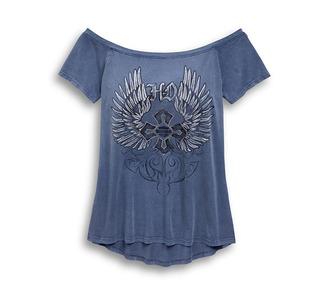 ウィング・クロス・Tシャツ