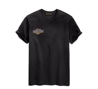 チェーン・ステッチ・スリムフィットTシャツ