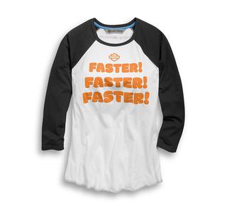 ファスター・ベースボール・Tシャツ