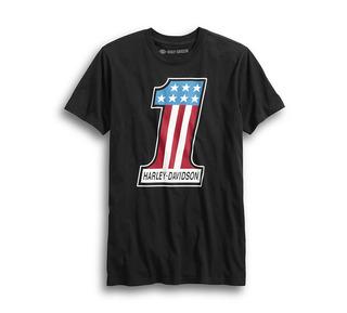 #1レトロ・スリムフィット・Tシャツ