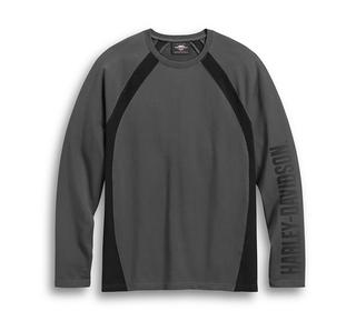 カラーブロック・ロングスリーブTシャツ
