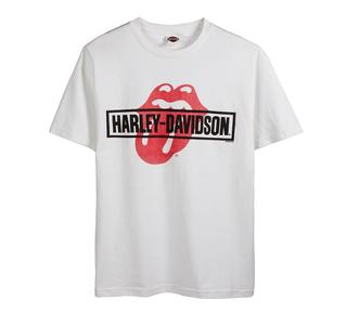 H-D×The Rolling Stones コラボTシャツ MASH - Iconic Tee
