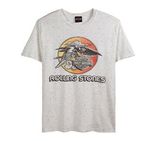 H-D×The Rolling Stones コラボTシャツ ジェットイーグル Tee