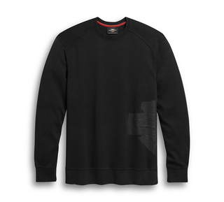 ラップアラウンド・ロゴ・ニットTシャツ