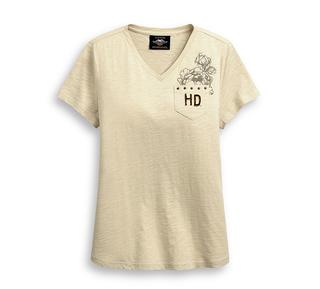 イーグル&ローズTシャツ