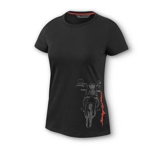 モーターサイクル・グラフィックTシャツ