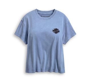 ブラック&ホワイト・エンジンTシャツ