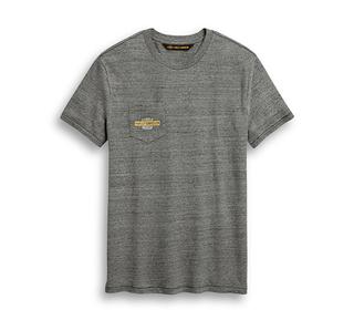 モーターサイクル・グラフィック・ポケットTシャツ