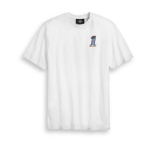 バーティカル・ブラック・ストライプTシャツ