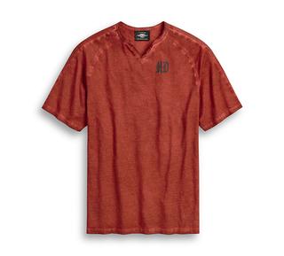 イーグルノッチ・ネックTシャツ