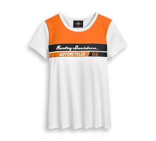 03 カラーブロックTシャツ