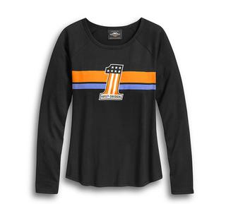 #1 ストライプ・ロングスリーブTシャツ