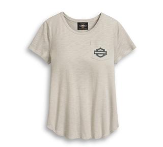 ロゴ・ポケット・イーグルTシャツ